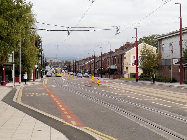 Droylsden, Ashton Road (A662)