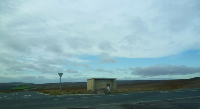 Road Junction, Three Howes Rigg