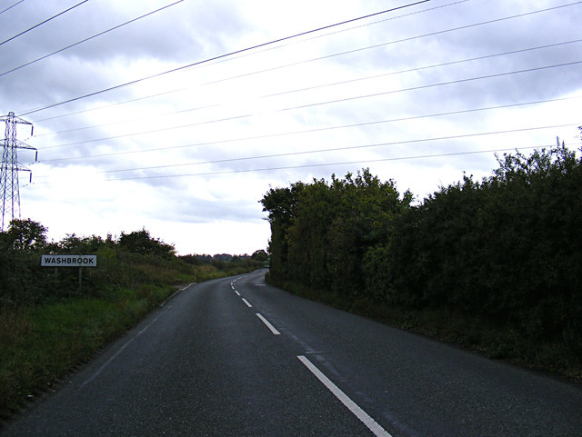 Entering Washbrook on Swan Hill
