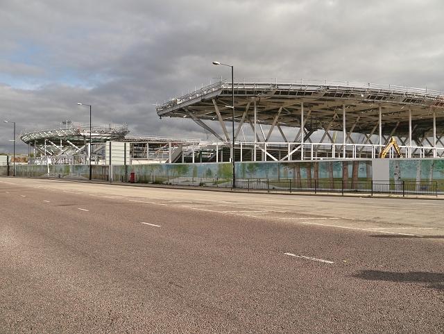 Manchester City Training Academy Construction, Ashton New Road