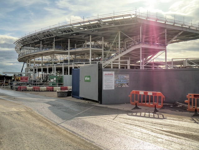 Manchester City Academy Construction, Openshaw West
