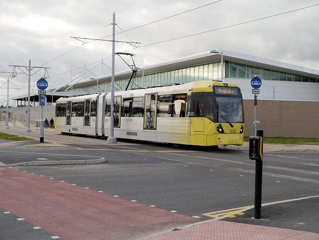 Tram Passing Asda