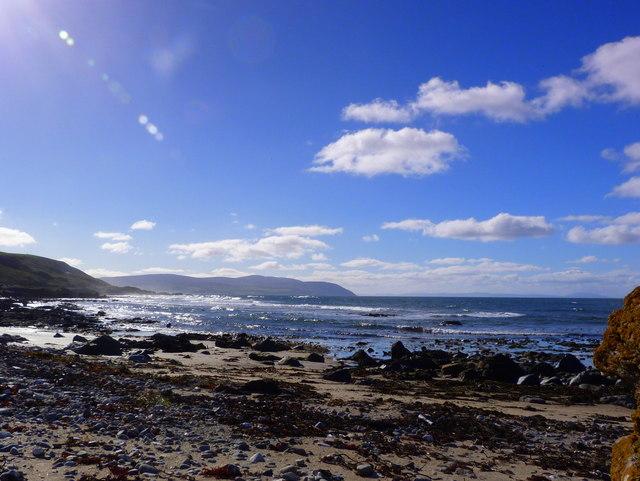Kintyre shoreline