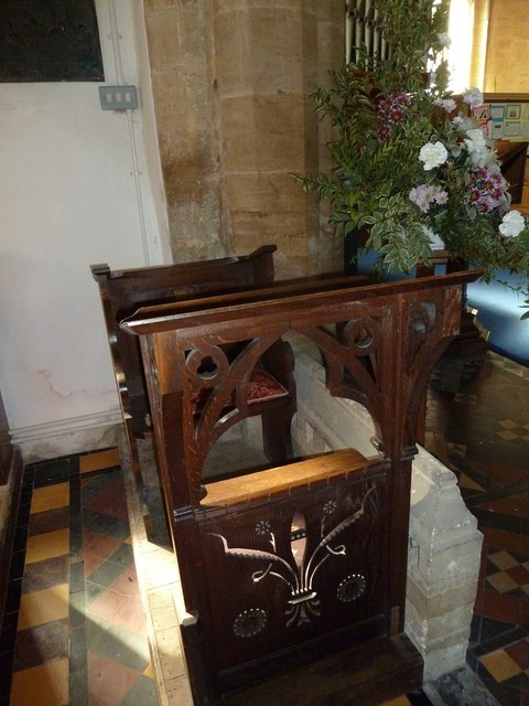 Inside Saint Mary Major, Ilchester (c)