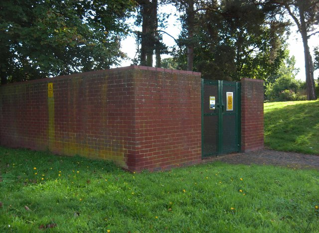 Electricity sub-station, Captain's Pool Road, Spennells, Kidderminster