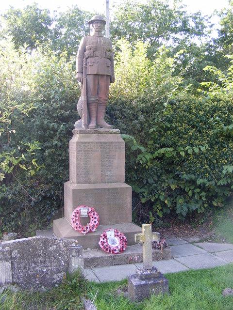 Stokesay Cenotaph