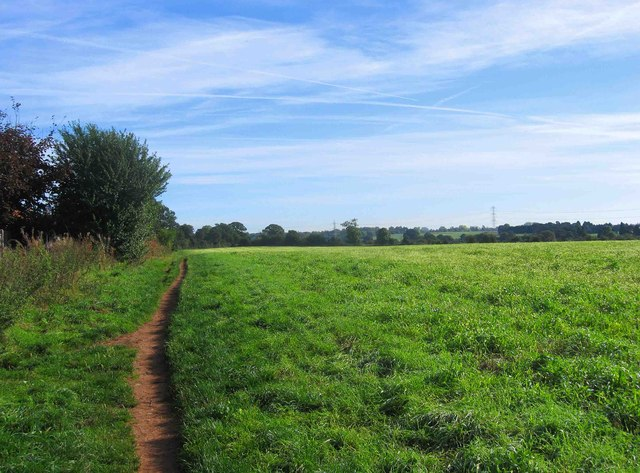 Field and bridleway, Spennells, Kidderminster