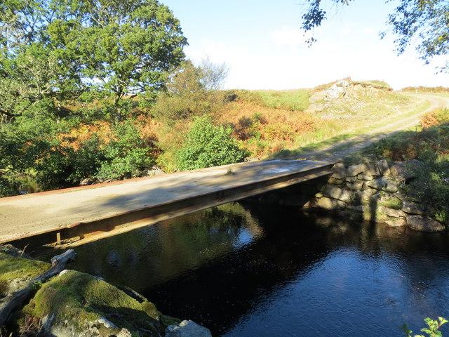 Estate bridge over Ormsary Water