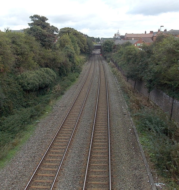 Towards Wellington railway station