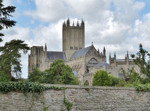 Wells Cathedral from the South-east