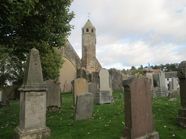 Another aspect of St. Bride's Church in Douglas