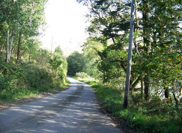Unclassified road near Old School House