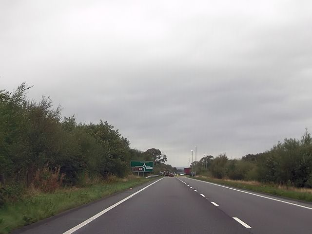 A487 south of slateworks roundabout