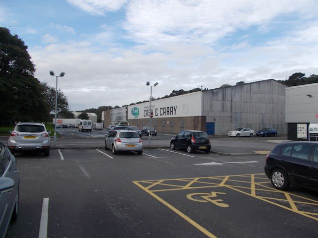 Cash and Carry warehouse from Dunelm Mill store
