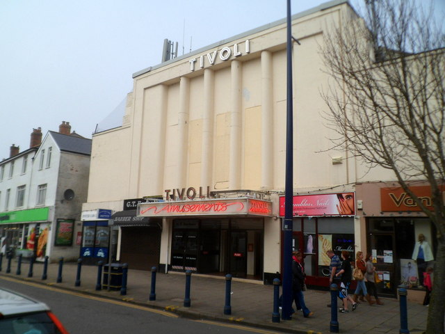 Tivoli amusements, Mumbles, Swansea
