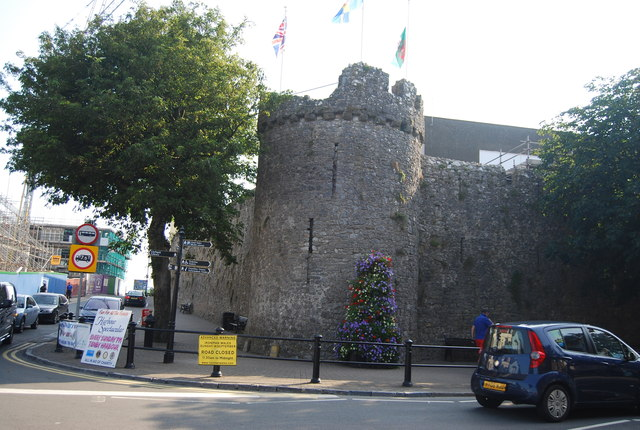 Tower, Tenby Town Walls