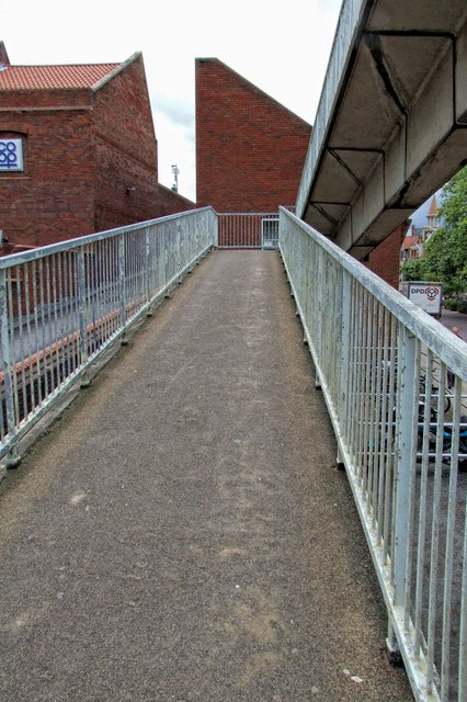 Pedestrian Footbridge, Lincoln