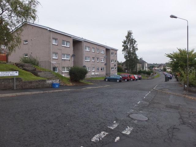 Housing on George Street, Dunblane