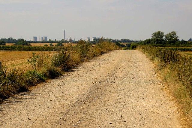 Bridleway to North Moreton