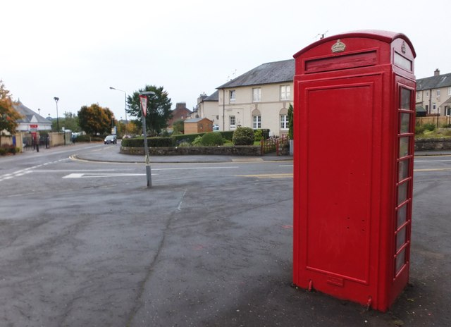 Red telephone box, Dunblane