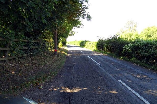 Hithercroft Road to South Moreton