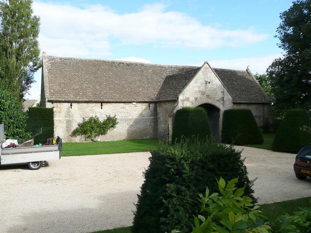 15C barn near Westwood Manor