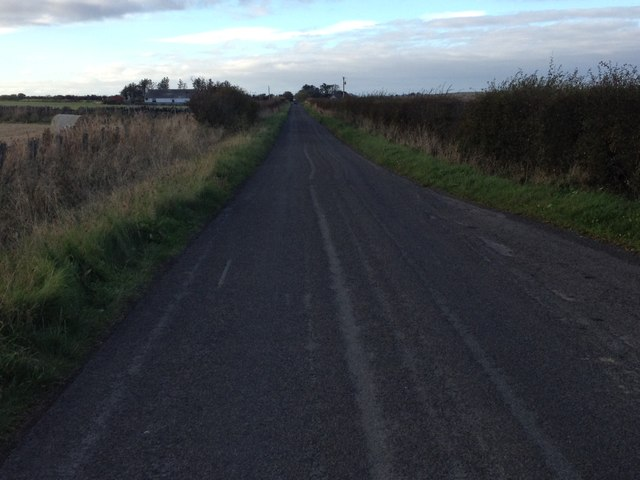 Minor road near Lyth