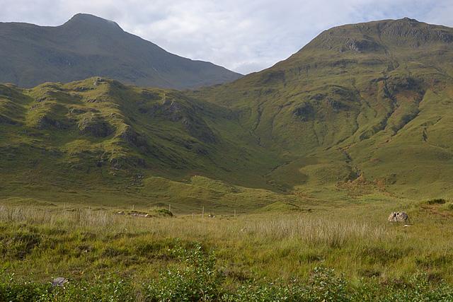 The south side of Glen Shiel