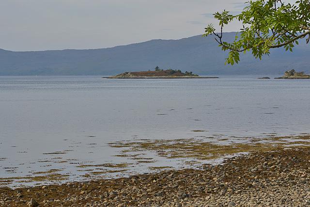 View out to Eilean an t-Sratha