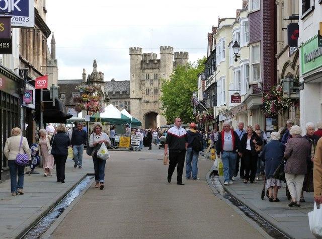 High Street, Wells, Somerset