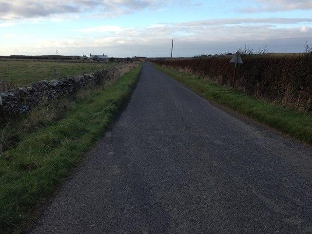 Minor road near Reaster