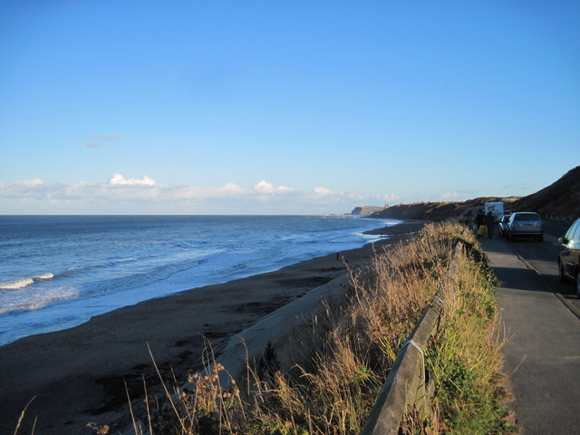 Sandsend  Beach  toward  Whitby