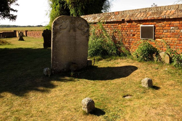 Agatha Christie's grave in St Mary's churchyard