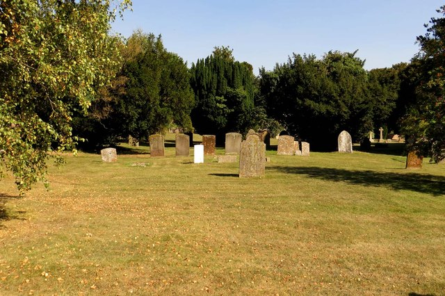 St Mary's Churchyard in Cholsey