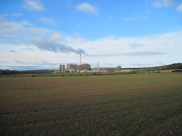 Boulby  Mine  from  the  Cleveland  Way