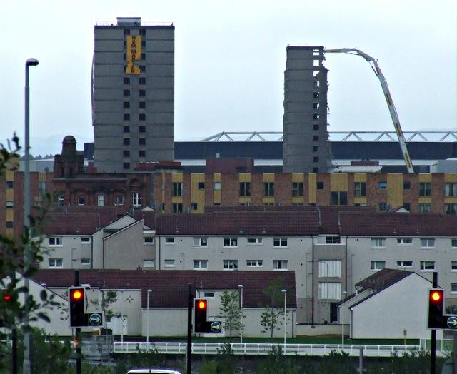 Towerblock demolition