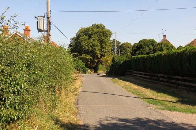 Winterbrook Lane in Wallingford