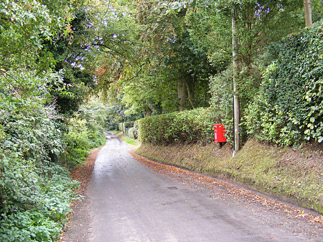 Pigeon's Lane & The Grange Pigeons Lane Postbox