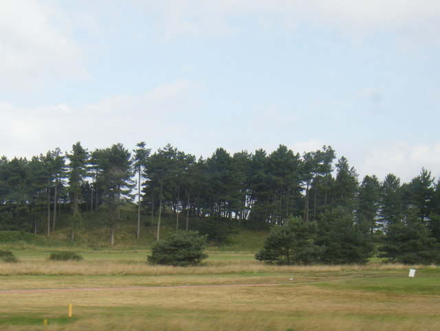 Hillside Golf Course from the Southport train