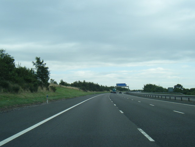 M6 Toll south-west of Wall