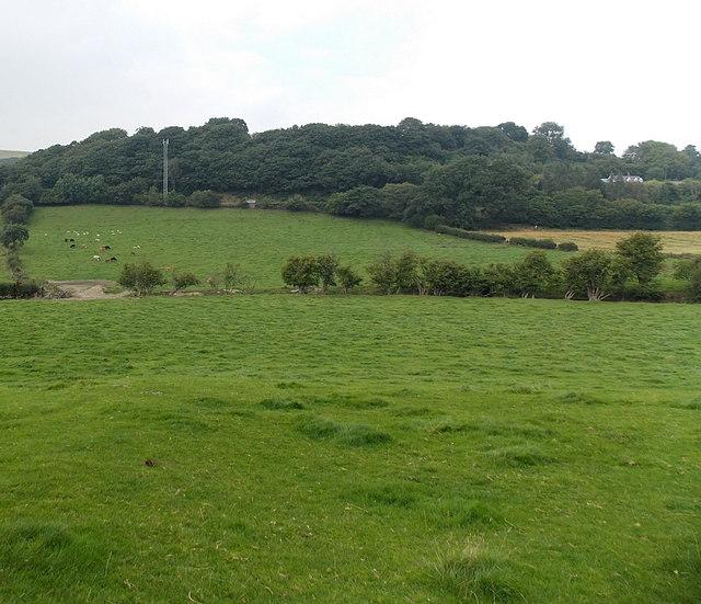 From churchyard to railway, Heyope
