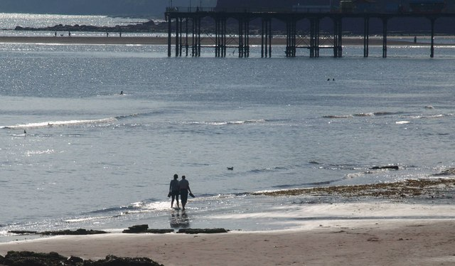 Beach at Teignmouth