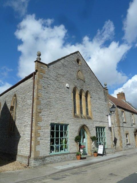 Former chapel opposite the parish church