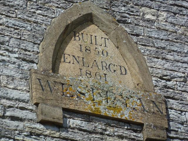 Datestone seen in Church Street