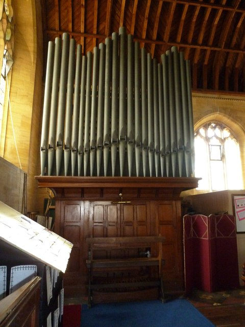 Saint Mary Major, Ilchester:  organ