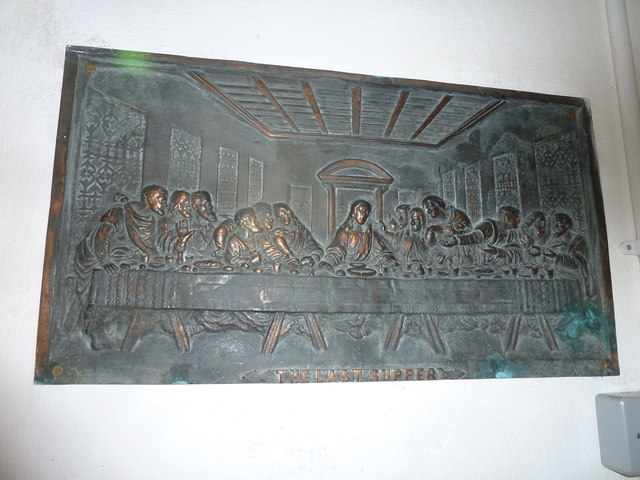 Saint Mary Major, Ilchester:  The Last Supper
