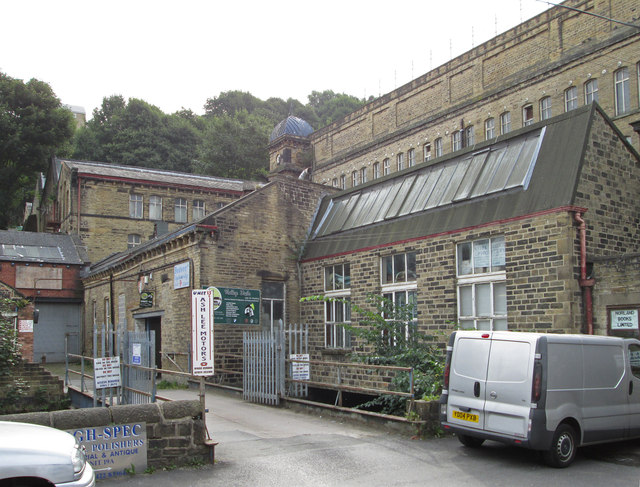 Sowerby Bridge - Asquith Bottom Mill - from west