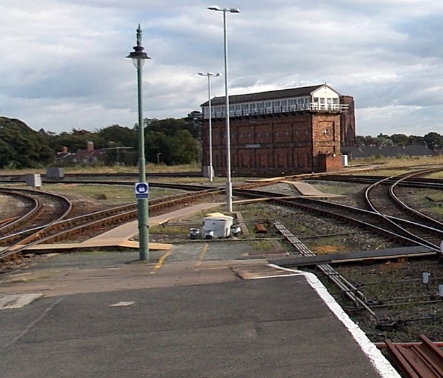 Severn Bridge Junction signalbox Shrewsbury