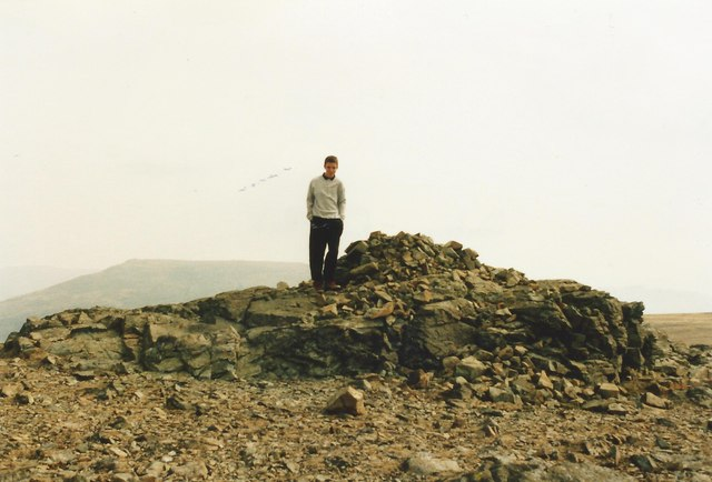 Summit of Dove Crag