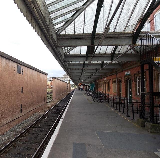 Platform 7B at Shrewsbury railway station
